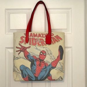 COACH Marvel Spider-Man Tote with Spiderman